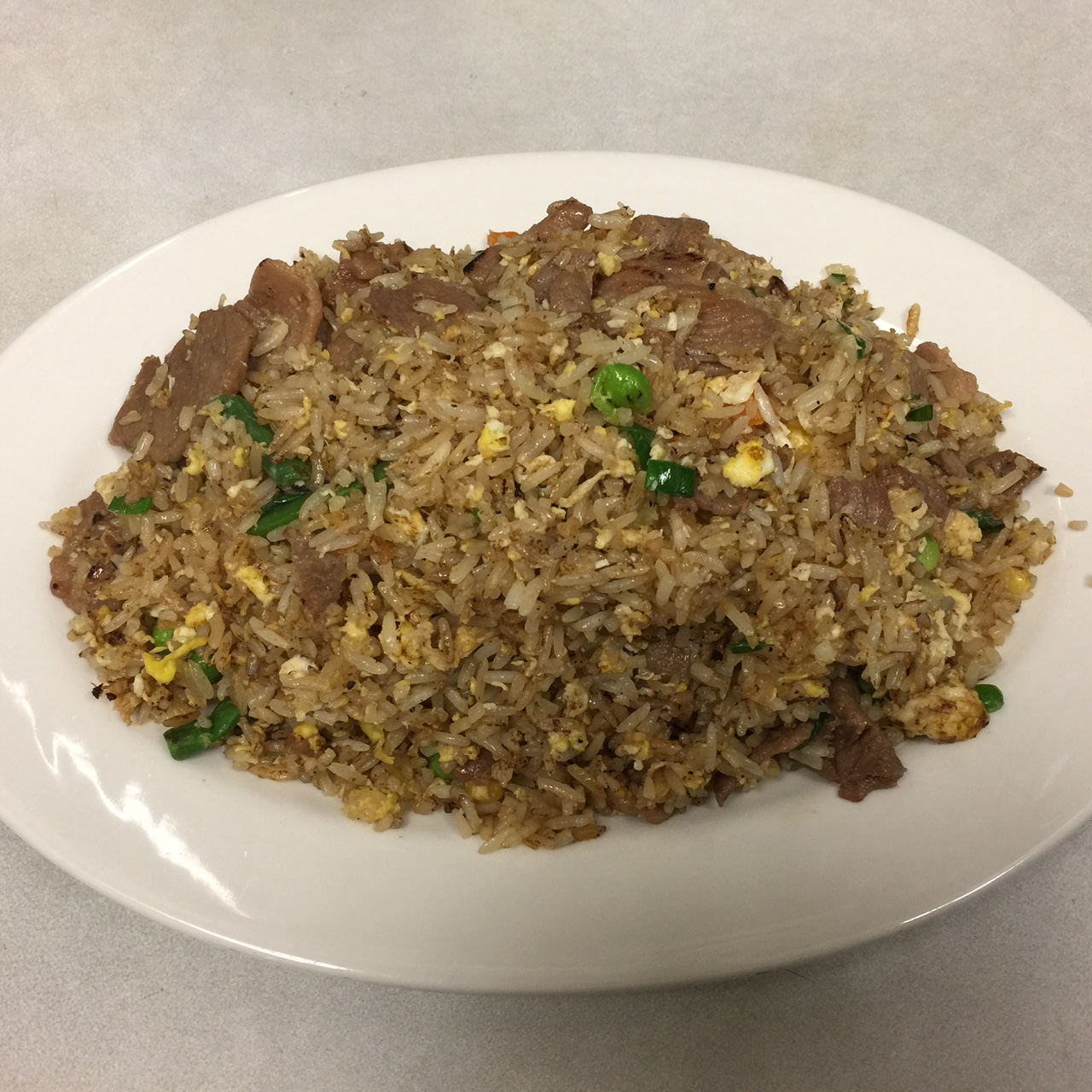 Fried Rice: Chicken, Beef, Pork, or Tofu
